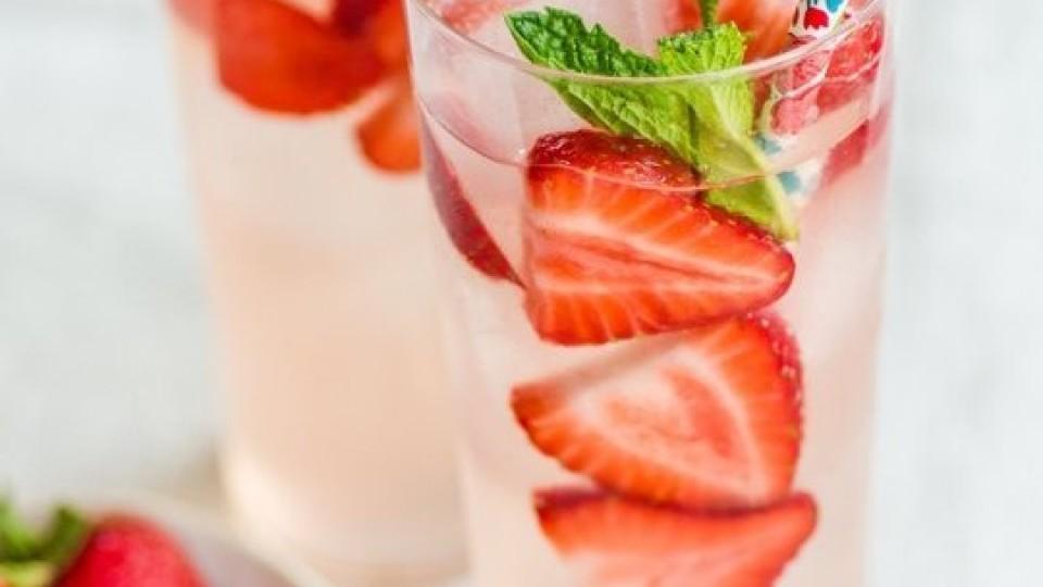 Cocktail fragole e gin