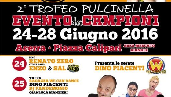 Torna il Trofeo Pulcinella ad Acerra