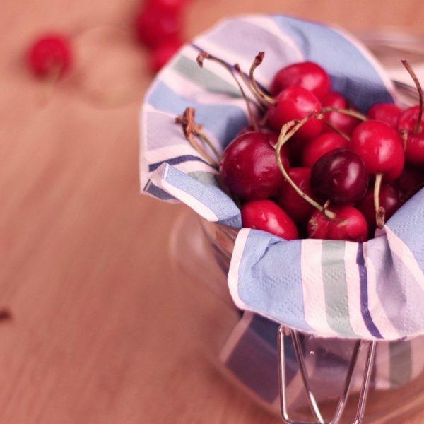 Sorbetto alle ciliegie