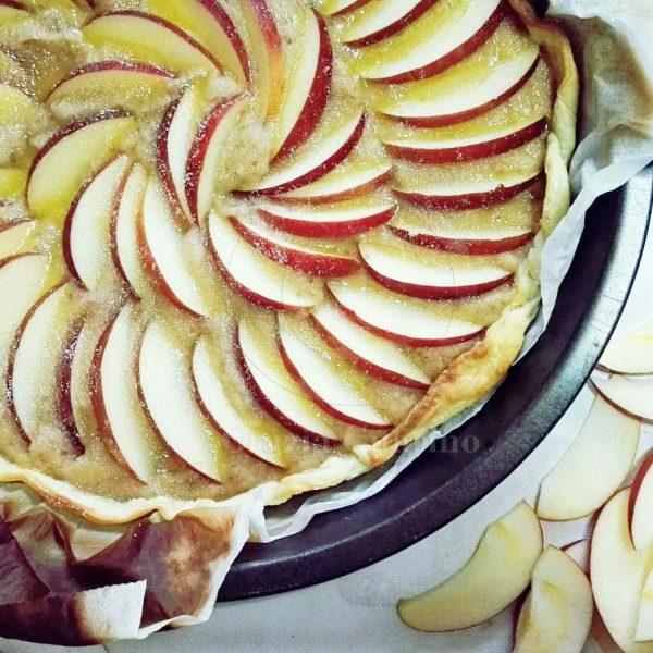 Torta di mele con pasta brisèe