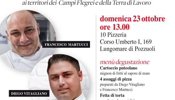 I Giganti Buoni della Pizza si incontrano da 10 Pizzeria di Diego Vitagliano