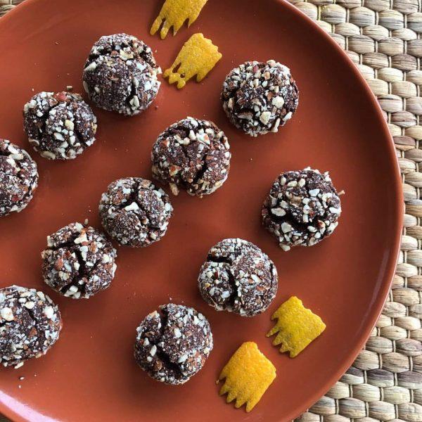 Biscotti di zucca e cioccolato