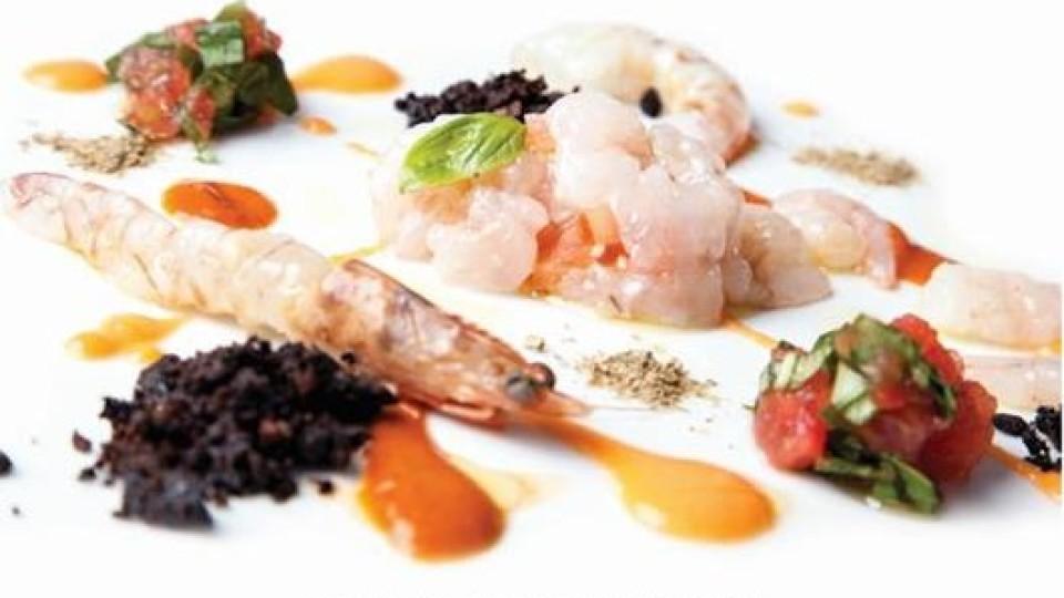 Carpaccio, tartare e cruditè di pesce al Rumi Restaurant