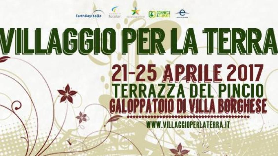 Dal 21 al 25 aprile a Roma ritorna il Villaggio per la Terra