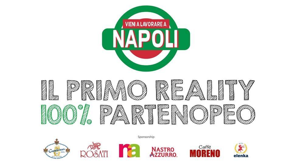 """""""Vieni a lavorare a Napoli"""" da un'idea di Michele Sergio"""