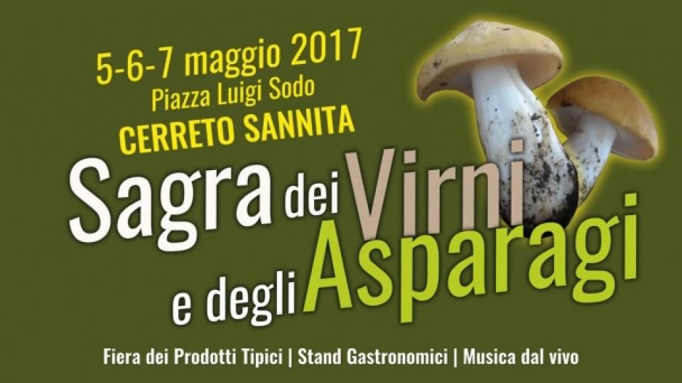 Sagra dei Virni e degli Asparagi: dal 5 al 7 maggio a Cerreto Sannita