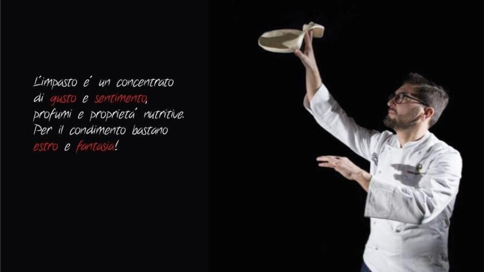 Aperitivo gourmet, sax e l'impasto di Marco Lungo da Olio & Basilico