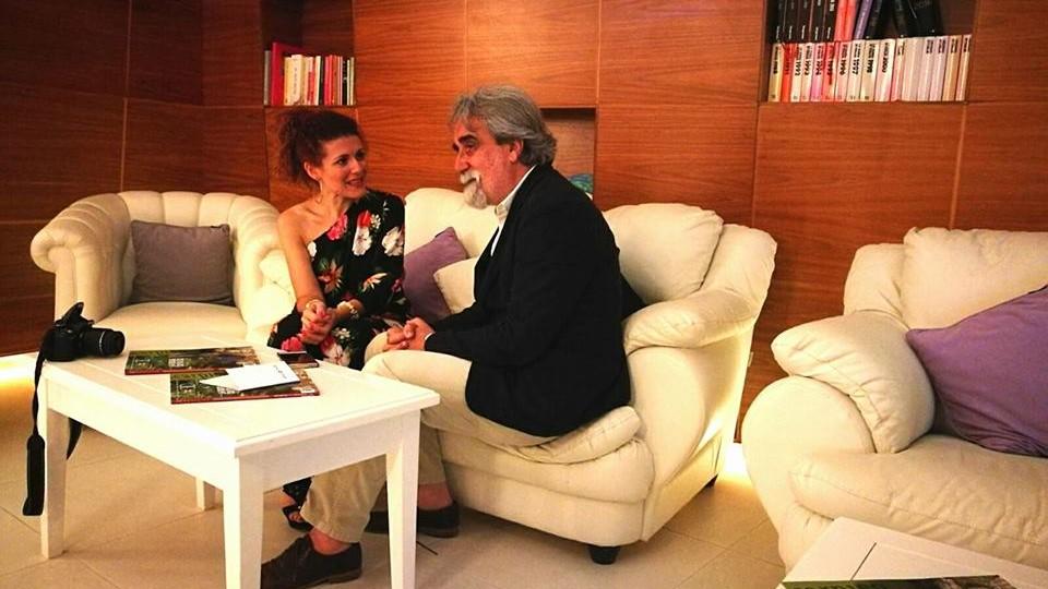 """Il Maestro Peppe Vessicchio all' Aperi-DIVO: """"Metto la mia musica al servizio del vino"""""""