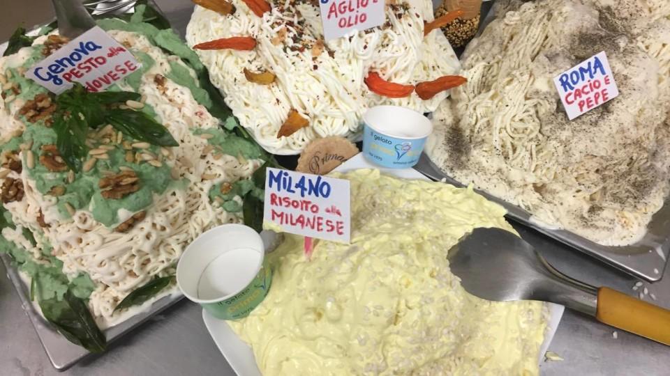 Ferragosto a Sorrento con maxi spaghettata in versione ice cream