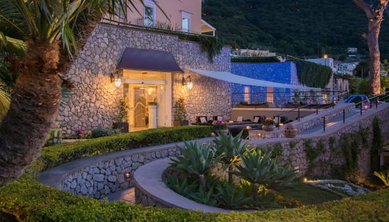 A Capri il Ferragosto si festeggia a Villa Marina