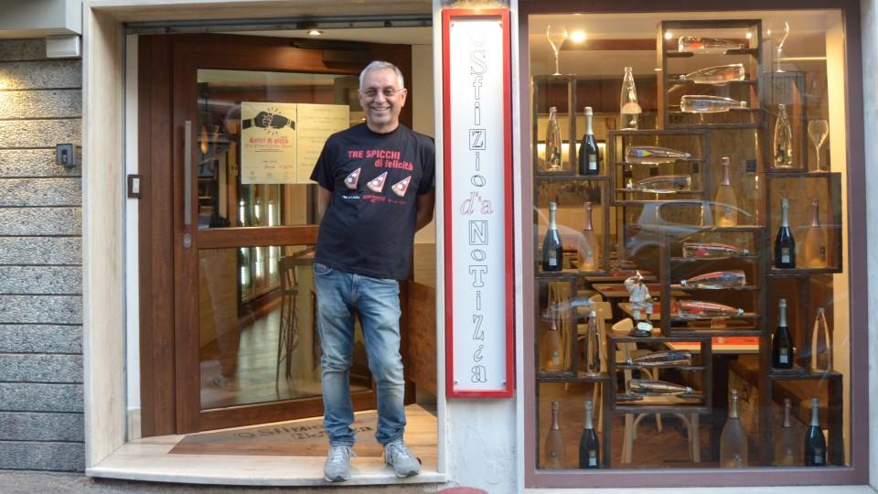 Enzo Coccia premiato dalla Guida Pizzerie d'Italia 2018