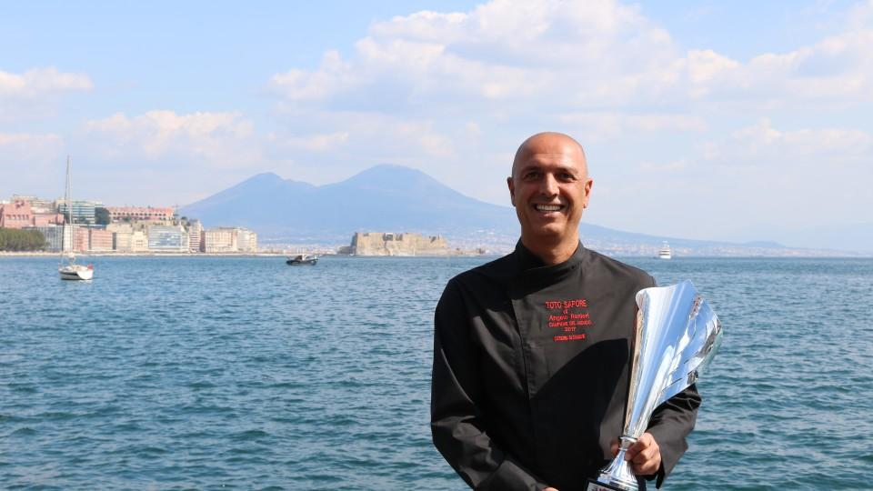 Angelo Ranieri presenta le sue proposte di Pizza e Cucina